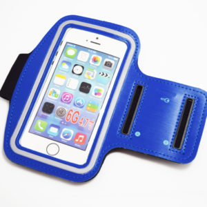 Blue iphone 6 6s 7 armband case