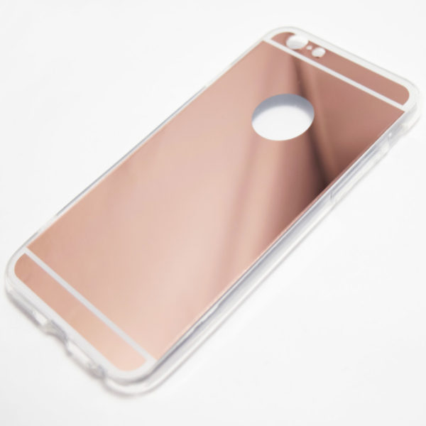 Case Design cell phone otterbox case : ... 6S Cases and Covers / Rose Gold iPhone 6 / 6s reflective mirror case