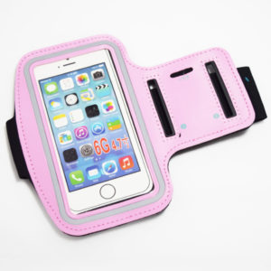 pink iphone 6 plus 6s plus 7 plus armband case