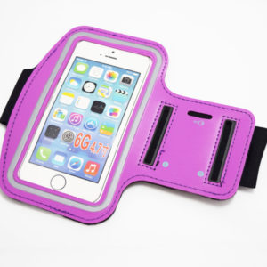 purple iphone 6 6s 7 armband case
