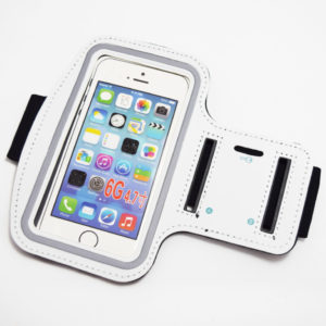 white iphone 6 6s 7 sport armband
