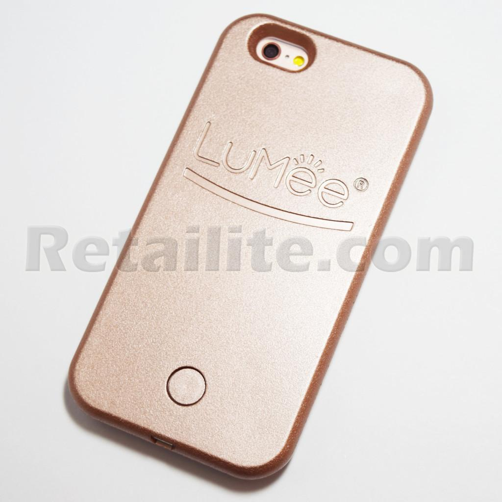 see lumee iphone 6s 6 selfie light case rose gold Smartphone