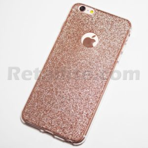 Rose Gold Glitter iPhone 6 6s Plus Case