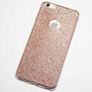 Rose Gold Glitter iPhone 6 Plus Case