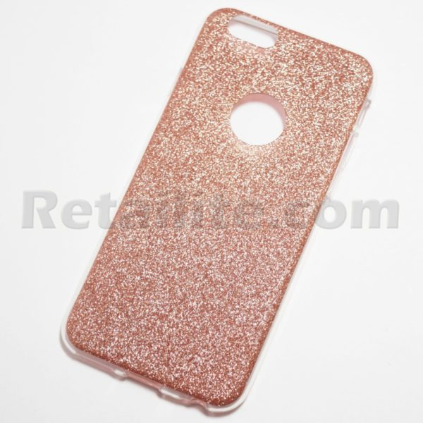 Rose Gold sparkly iPhone case