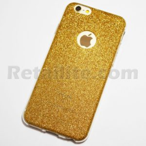 sparkly gold iphone 6s case
