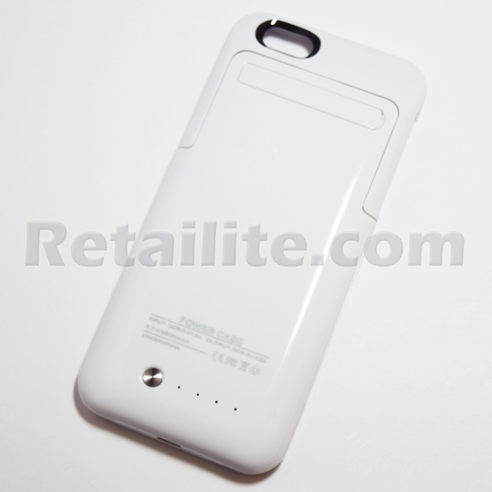iphone 6 battery case review white battery pack power for iphone 6 iphone 6s 7610