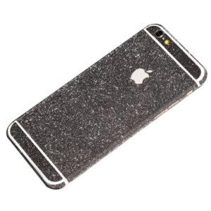 black glittery iphone 6 plus sticker