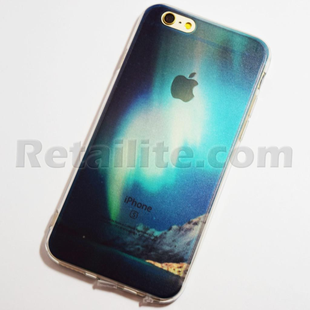 Aurora Borealis Northern Lights iPhone 6 / 6S Soft Case