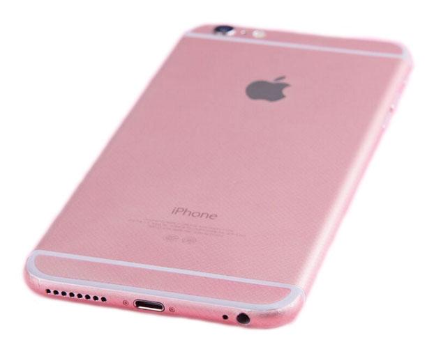 rose gold iphone 6 plus 6s plus full body sticker wrap. Black Bedroom Furniture Sets. Home Design Ideas