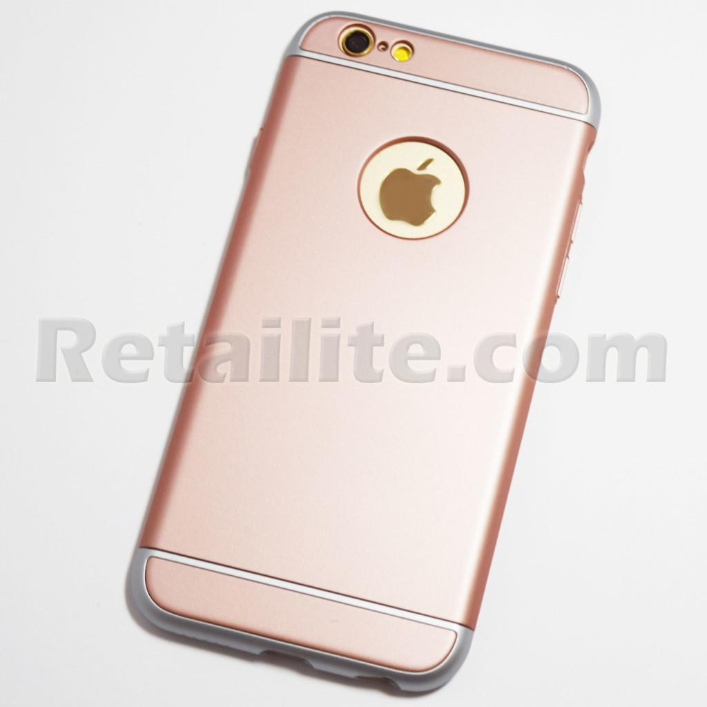 rose gold ultra slim shockproof iphone 6 iphone 6s hard case. Black Bedroom Furniture Sets. Home Design Ideas