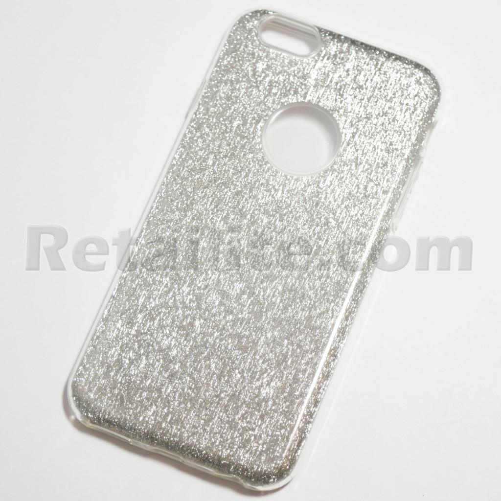 ... Cases and Covers / Silver Glitter Bling Case for iPhone 6 Plus / 6S