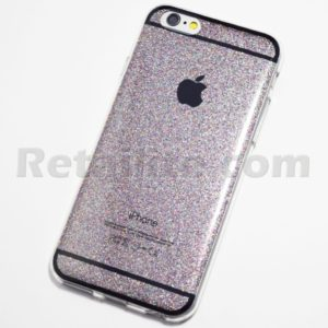 space grey glittery iPhone 6S Case