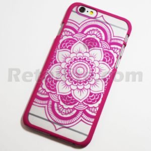 rose mandala flower iphone 6s case