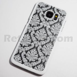 galaxy s7 edge vintage white case