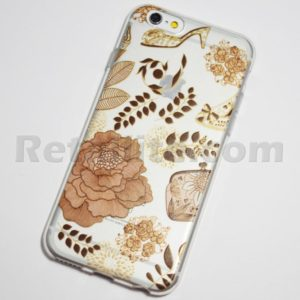 beige flower iphone 6s case