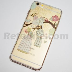 birds and flowers iphone 6s plus case