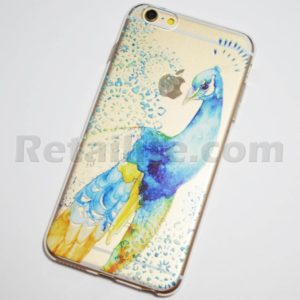 colorful peacock iphone 6s plus case