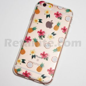 flowers pineapples coconuts iphone 6s case