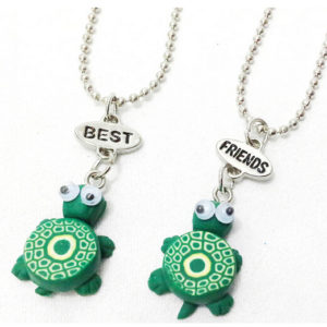 turtle best friends necklaces