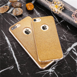 Glitter iPhone 7 plus soft cases