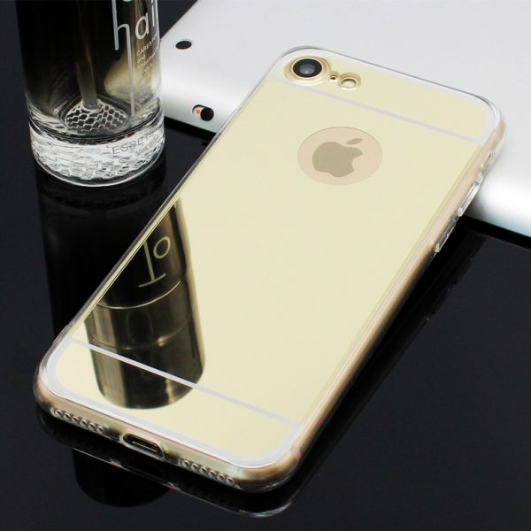 gold mirror iphone 7 plus case