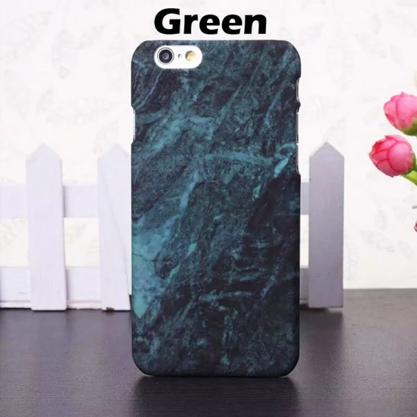 green marble iphone 7 plus hard case