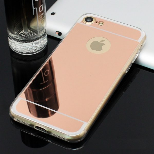 rose gold mirror iphone 7 plus case