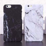 white black marble iphone 7 plus case