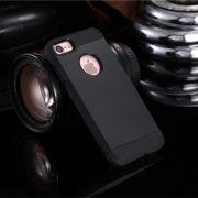 Black Shockproof Armor iPhone 7 Case