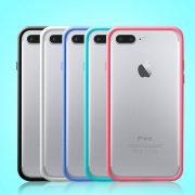 Black White Blue Green Pink iPhone 7 Plus Bumper Cases