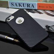 Carbon Fiber iPhone 7 Case with Apple Logo Hole