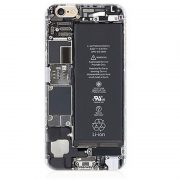Circuit Board Li Ion Battery open back iPhone 7 Plus Case