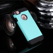 Light Blue Shockproof Armor iPhone 7 Case