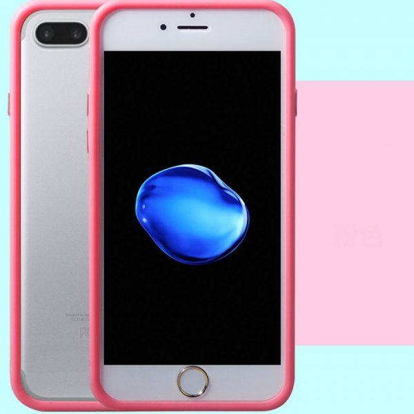 Pink Bumper iPhone 7 Plus Case