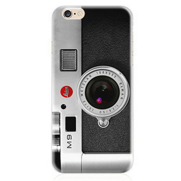 Retro Camera Leica M9 Leitz wetzlar 1989999 elmar iPhone 7 Plus case