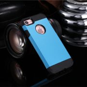 Sky Blue Shockproof Armor iPhone 7 Case