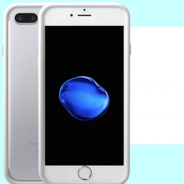White Bumper iPhone 7 Case