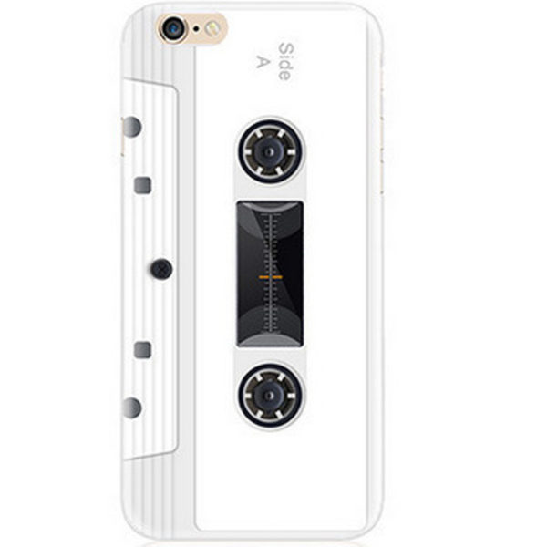 White Cassette tape iPhone 7 case