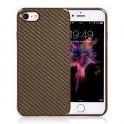 brown carbon fiber iphone 7 plus cases