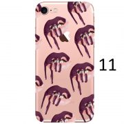 dark purple dripping lipstick kylie iphone 7 case