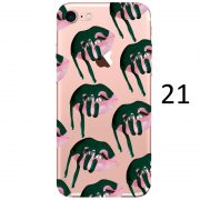 green dripping lips makeup kylie jenner iphone 7 case