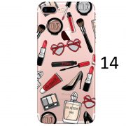 makeup brush heart glasses mascara high heel eau de parfum paris palette lipstick kylie jenner iphone 7 case