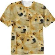 Doge Shiba Inu Print T Shirt