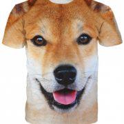 Large Doge Meme Dog Shiba Inu T-shirt