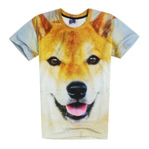 Large Doge Shiba Inu T-shirt