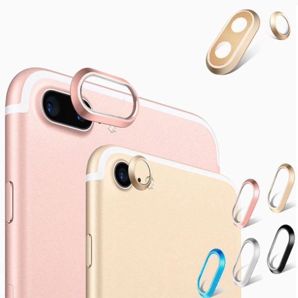 Metal Camera Lens protector iphone 7