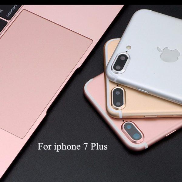 Rose Gold Silver iPhone 7 Camera Lens Metal Ring Guard