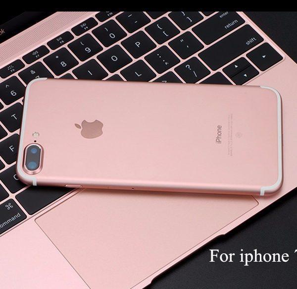 Rose Gold iPhone 7 Plus Camera Lens Metal Ring Guard