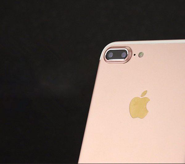 Rose gold iPhone 7 Plus Camera Protector